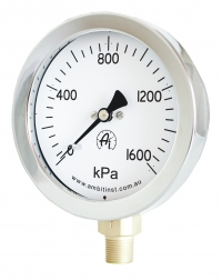Pressure Gauge Stainless Steel/Brass 500 Series