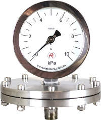 Diaphragm Gauges Schaffer Series 200